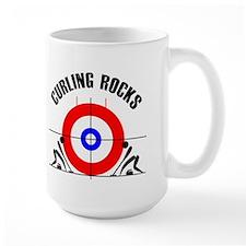 Curling Ceramic Mugs
