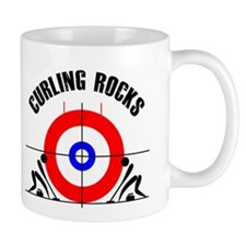 Curling Coffee Mug