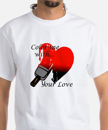 Color me with your Love Shirt