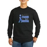 Cancer survivor Long Sleeve T-shirts (Dark)