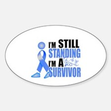 Still Standing I'm A Survivor Sticker (Oval)