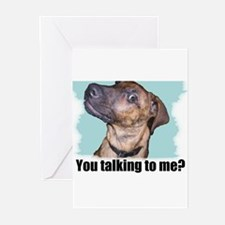 You talking to me? Greeting Cards (Pk of 10)