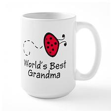 Ladybug Grandma Mug