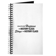 Whatever Happens - History Class Journal