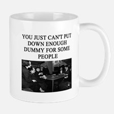 duplicate bridge player gifts Mug