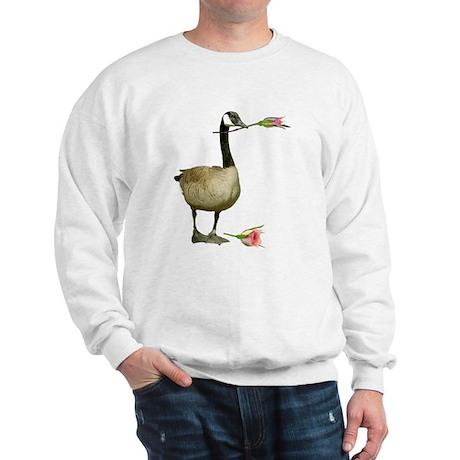 Canada Goose With Rose Sweatshirt