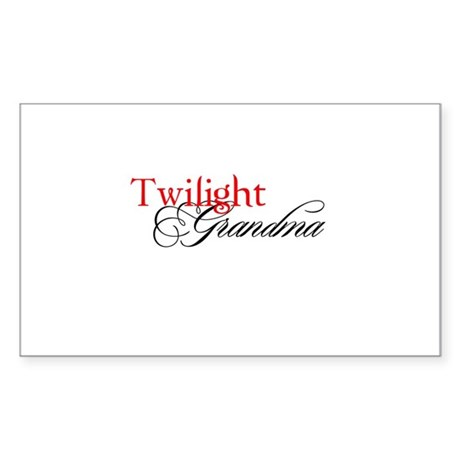Twilight Sticker (Rectangle)