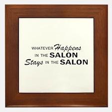 Whatever Happens - Salon Framed Tile