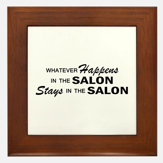 Whatever Happens - Salon Framed Tile