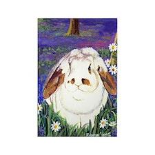 Horatio Lop Rabbit Rectangle Magnet