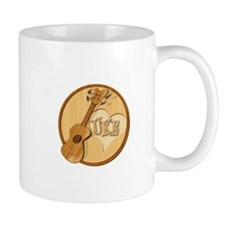 My Dog Has Fleas -- Ukulele Fan Mug
