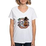 Updated Logo 1 Women's V-Neck T-Shirt