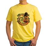 Updated Logo 1 Yellow T-Shirt