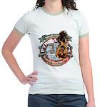 Updated Logo 1 Jr. Ringer T-Shirt