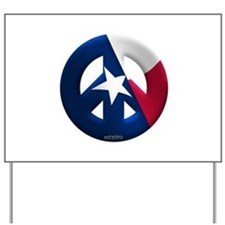Texas Yard Sign