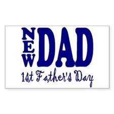 FIRST FATHER'S DAY Decal
