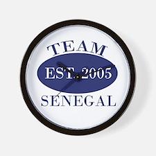 Team-2 Senegal Est. 2005 Wall Clock