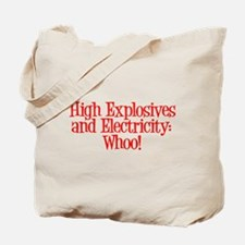 Highly Electric Tote Bag