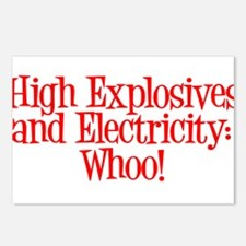 Highly Electric Postcards (Package of 8)