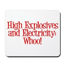 Highly Electric Mousepad