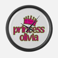 Princess Olivia Large Wall Clock