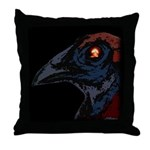 Atomic Rooster Throw Pillow