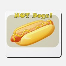 hotdog Mousepad
