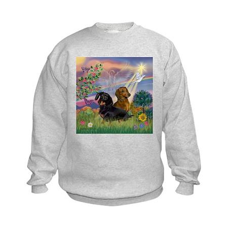 Cloud Angel Doxies Kids Sweatshirt