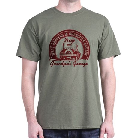 Grandpa's Garage Dark T-Shirt