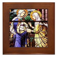 The Visitation Framed Tile