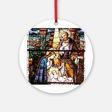 The Nativity Ornament (Round)