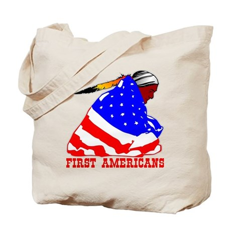 First Americans Tote Bag