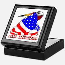 First Americans Keepsake Box