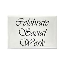 Celebrate SW (black) Rectangle Magnet