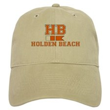 "Holden Beach NC ""Nautical Flags"" Design Baseball Cap"