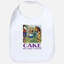 CAKE WILL MAKE IT BETTER Bib