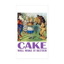 CAKE WILL MAKE IT BETTER Decal