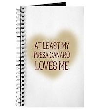 At Least My Presa Canario Lov Journal