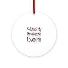 At Least My Presa Canario Lov Ornament (Round)