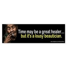 Time Is A Great Healer, But A Lousy Beautician