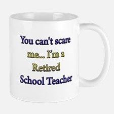 Cute Retired teacher Mug
