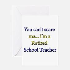 Unique Retired teacher Greeting Card