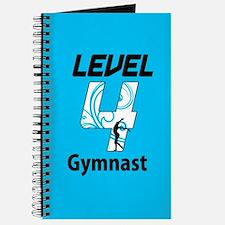 Blue Level 4 Gymnast Journal