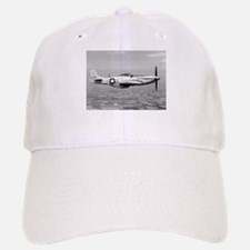 P-51 In Flight Baseball Baseball Cap