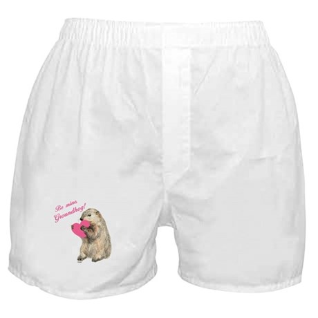 Be Mine, Groundhog Boxer Shorts