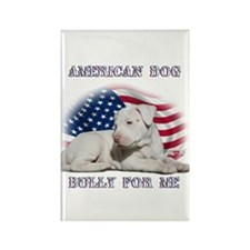 Bully for Me, American Dog Rectangle Magnet (100 p