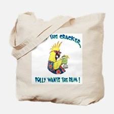 Polly Wants Rum Tote Bag