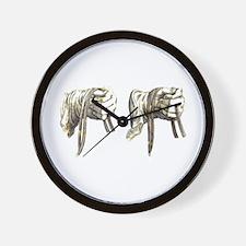 Dressage Hands Wall Clock