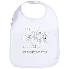 Greetings From Earth Bib