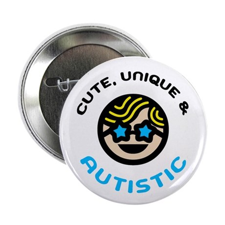 """Unique 2.25"""" Button"""